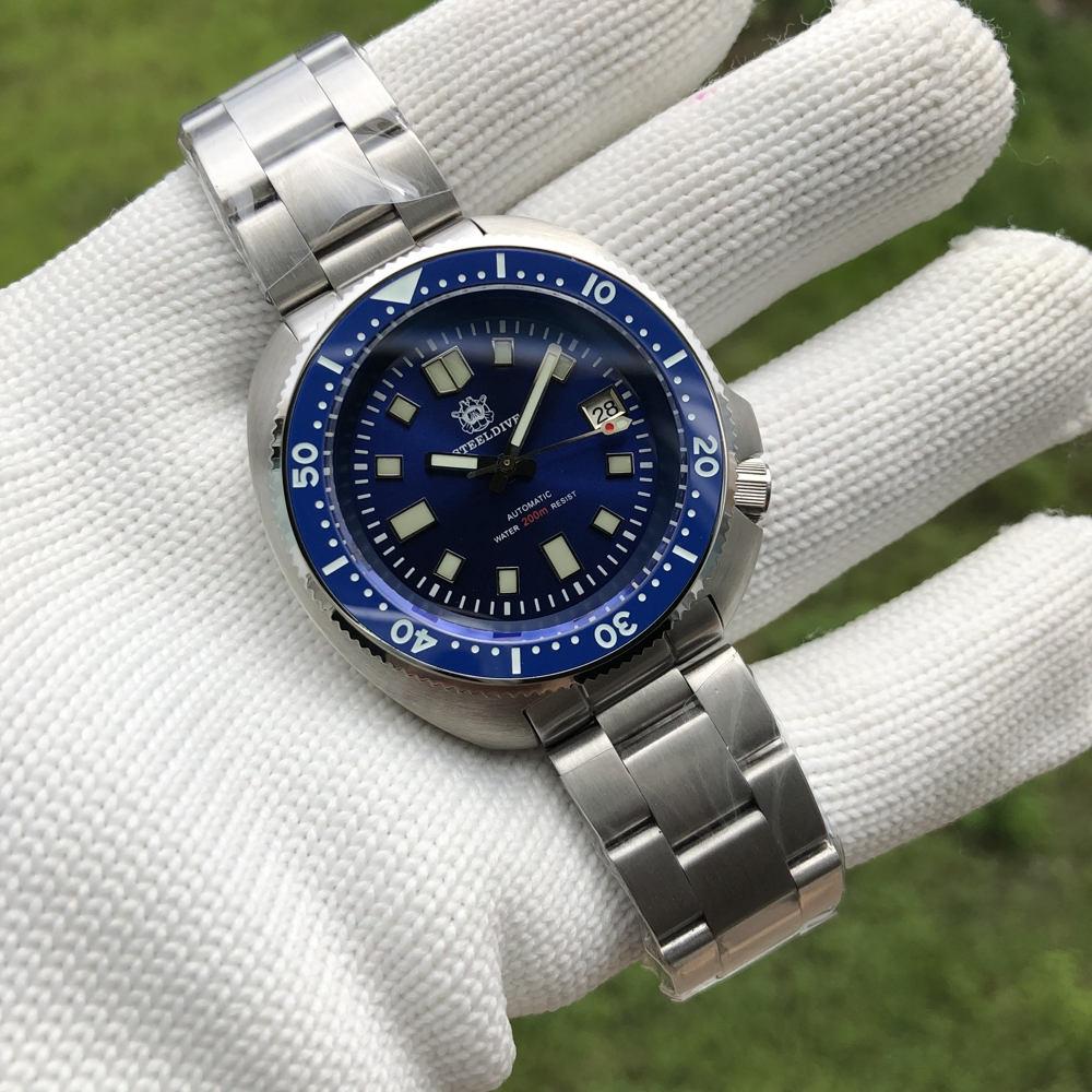 H3e251432ef714d1e847d3498ed0aed8bH SD1970 Steeldive Brand 44MM Men NH35 Dive Watch with Ceramic Bezel