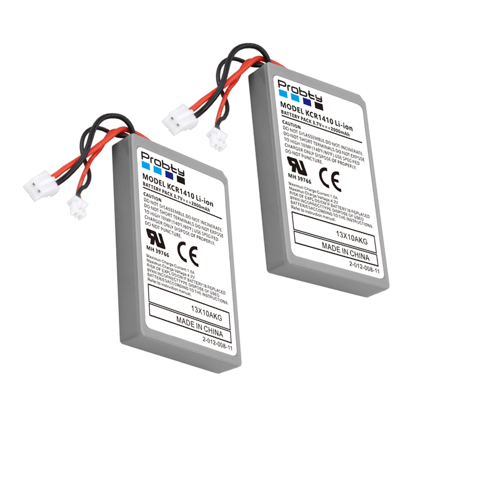 2pcs 2000mAh Battery For Sony Gamepad PS4 Battery Dualshock4 V1 Wireless controller Rechargeable Batteries CUH-ZCT1E CUH-ZCT1U