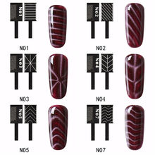 3D Nail Art Magnet Stick For Cat Eye Gel Polish UV LED Kuku Seni Manikur Pernis Line Strip Magnetic Pen alat(China)