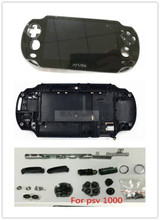 Housing Shell Case Cover For PSVita PS Vita PSV1000 Console Case With Full Set Of Accessories Replacement