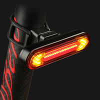 Ftw usb 충전식 자전거 테일 라이트 자전거 후면 턴 신호등 야간 사이클링 안전 led 램프 h008 방수