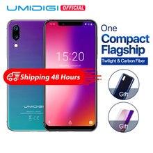 """UMIDIGI One 5,"""" Андройд 8,1 мобильный телефон 4 ГБ 32 ГБ P23 восьмиядерный смартфон 12MP+ 5MP двойной 4Г разблокировка лица глобальная версия компактный флагман+сумерки"""
