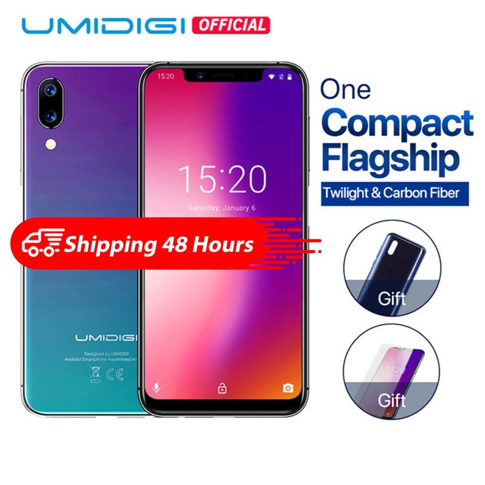 Фото. UMIDIGI One 5,9 дюйм  Андройд 8,1 мобильный телефон 4 ГБ 32 ГБ P23 восьмиядерный смартфон 12MP
