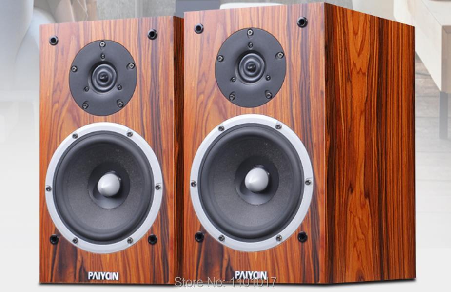 PAIYON P2S Bookshelf Speakers HIFI EXQUIS Tymphany Peerless VIFA XT25TG30 unit speaker 1