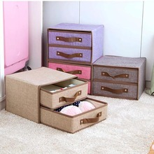 Underwear Divider Socks Organizer Storage-Box Drawer Cabinet Organization-Boxes Folding