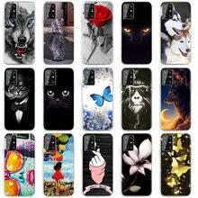 Tpu macio caso para cubot p20 p30 casos silicone bonito pintado telefone fundas para cubot j2 magic power r11 capa cubot max 2 2019