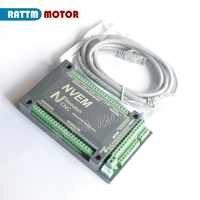 4 Axis NVEM CNC Controller 200KHZ Ethernet MACH3 Motion Control Card for Stepper Motor Servo motor from RATTM MOTOR