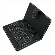 цена на 10.1 Inch Imitation Leather Case Cover with USB Keyboard universal for Android Windows Tablets 284*185*13mm