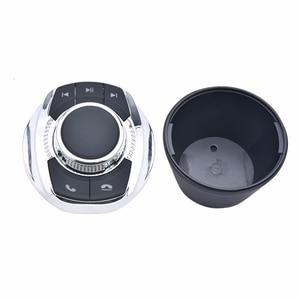 Image 2 - NS تعديل 8 Key وظائف سيارة لاسلكية عجلة القيادة التحكم زر شكل كوب مع مصباح ليد لسيارة أندرويد الملاحة لاعب