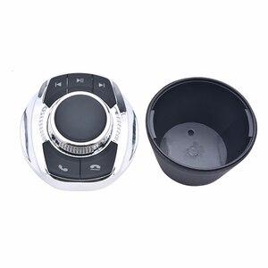 Image 2 - NS modyfikuj 8 klucz funkcji samochodu bezprzewodowy kierownicy przycisk sterowania kształt filiżanki z LED Light dla samochodów z systemem Android odtwarzacz nawigacyjny