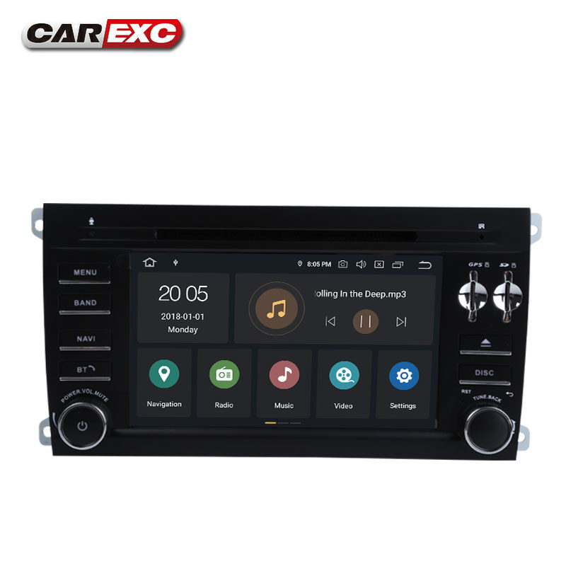 Flash Deal Android 9.0 Octa Core  Car DVD Player Stereo System For Porsche Cayenne With Canbus Wifi GPS Navigation Radio Carplay 4