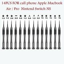 Repair Open Tools Kit Screwdriver For Mobile Phone Apple macbook/air Nintend Switch Y0.6/1.5/2.0 P2 P5 phillps 1.2/1.5/2.0 T2 T5