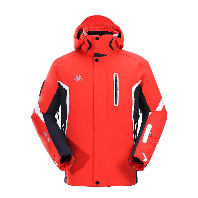 ROYALWAY Winter Outdoor Sport Weihnachten Ski Anzug Männer Snowboard Skifahren Jacken Wasserdichte Avalanche Suchen Rettungs System