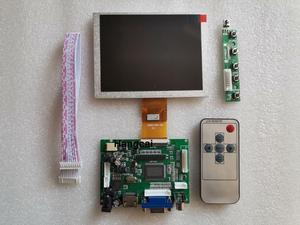 HDMI+VGA+2AV ZJ050NA-08C 50 pin 640*480 LCD Display Driver Board Controller Kit for Panel(China)