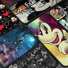 Disney Mickey Mouse Silicone Cover For Xiaomi Redmi 9T 9 9C 9A 9AT 9i 8 8A 7 6 Pro 7A 6A 5 5A 4X Plus Phone Case