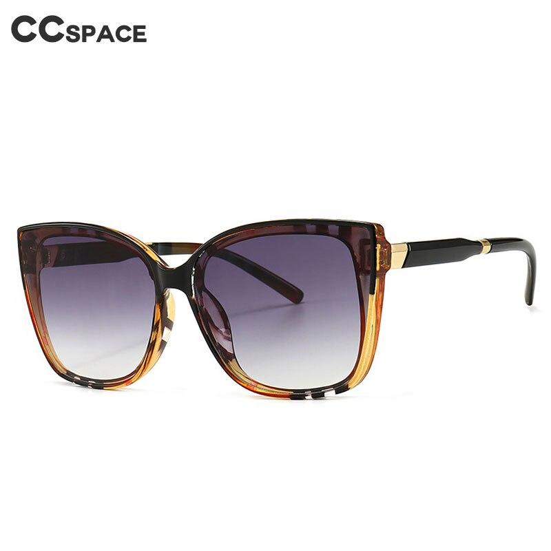 46305 Square Cat Eye Stripe Ultralight Glasses Frames Men Women Optical Fashion Computer Glasses