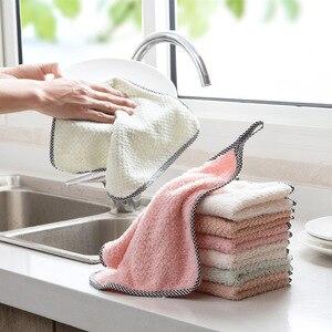 200 sztuk mikrofibra o dużej chłonności kuchnia danie tkaniny wysokiej wydajności zastawa stołowa ręcznik do czyszczenia gospodarstwa domowego kichen narzędzia gadżety