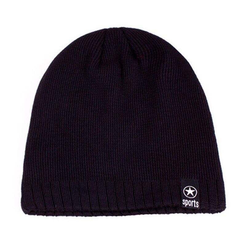Winter Windproof Thick Warm Running Cap Winter Knitted Hats Snowboarding Cap Ski Running Caps Outdoor Sports