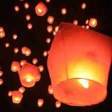 6 шт. вечерние ночные свечи летные огни День Святого Валентина праздничные воздушные шары DIY пожарные Огни Друзья Семья Рождество