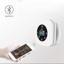 FFYY HOTT S603 Mini Portable étanche sans fil Bluetooth haut parleur mains libres Radio FM pour salle de bain blanc