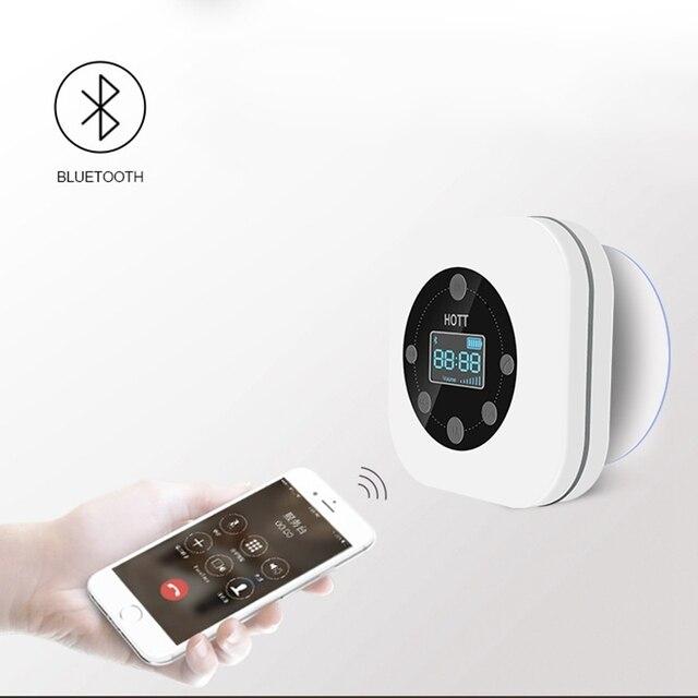 FFYY HOTT S603 Mini przenośny wodoodporny bezprzewodowy głośnik Bluetooth głośnomówiący Radio FM do łazienki biały