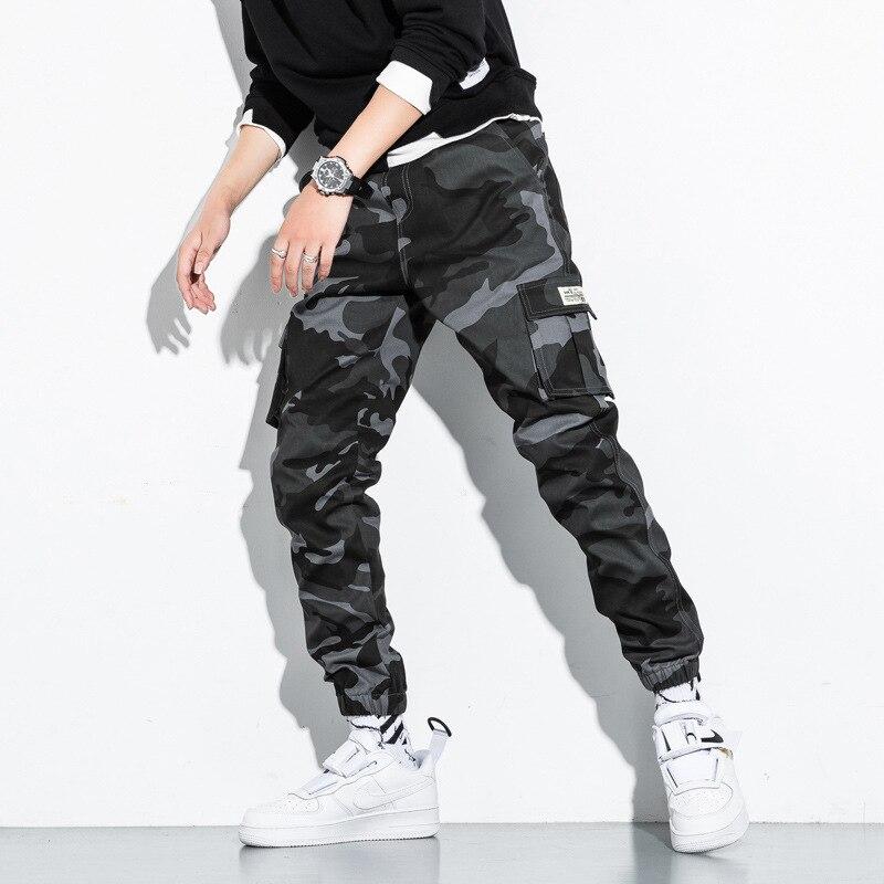 Men's Side Pockets Cargo Harem Pants 22