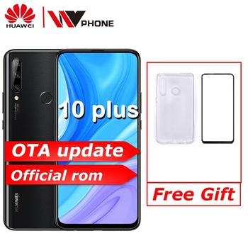 global rom Huawei Enjoy 10 plus 6.59 inch 2340*1080P mobile phone Kirin 710F Octa core 48MP AI Camera 4000 mAh