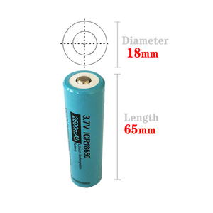 Image 5 - 2PCS PKCELL 18650 li ion battery ICR18650 2600MAH 3.7V lithium rechargeable battery button top flashlight Torch Accumulator Cell