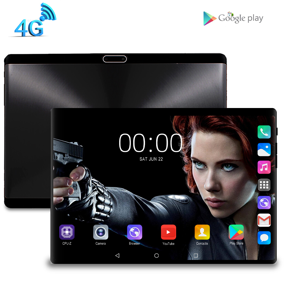 10.1 Inch Tablet PC 4G Lte Phone Quad Core Google Play Kids Tablette Enfant 2GB RAM 32GB ROM WiFi GPS Tablet Android 7.0 10