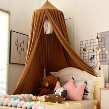 Tenda per lettino per bambini tenda a cupola sospesa zanzariera lettino per bambini decorazioni per la camera della neonata tenda a baldacchino per letto per bambini