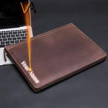 MVA Male Clutch Wallets Vintage Engrave Long Men Wallets Genuine Leather