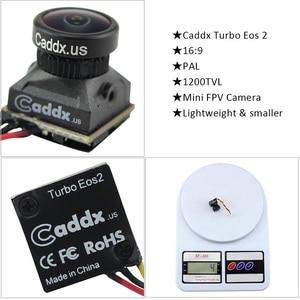 Image 5 - FPV Camera Caddx Turbo EOS2 1200TVL 2.1mm 1/3 CMOS 16:9 4:3 Mini FPV Camera Micro Cam NTSC/PAL For RC Drone Car Accessory
