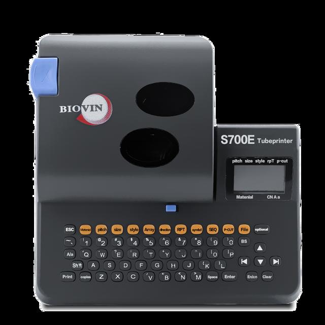 A máquina do número da linha s700e pode ser conectada a uma máquina da marcação da embalagem do computador calor shrinkable tubo impressora s650e atualizar