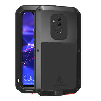 Aluminum Metal Armor Case For Huawei Mate 20 Lite Case Shockproof 360 Rugged Full Body Cover Huawei Mate 20 Lite Mate20 20Lite - DISCOUNT ITEM  25% OFF All Category