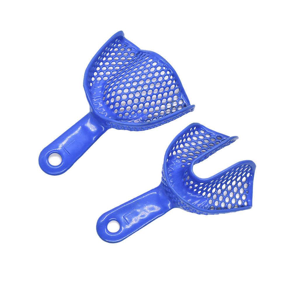 10 sztuk zielony niebieski dezynfekcja wysokotemperaturowa opieka stomatologiczna higiena jamy ustnej produkt dentystyczny silikonowa forma do gumy taca na zęby