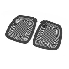 2Pcs DC 12V Vehicle Side Mirror Glass Car Electric Heated Pad Mat Defoggers Remove Frost Mirror Glass Heat Heating Pad New(China)