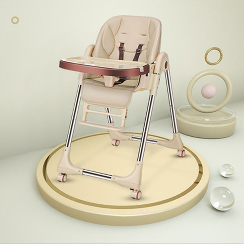 Baby Dining Chair Has Wheels And Reclining Multi-Function Portable 6 Months-6 Years Old Variety Of Styles And Multiple Colors