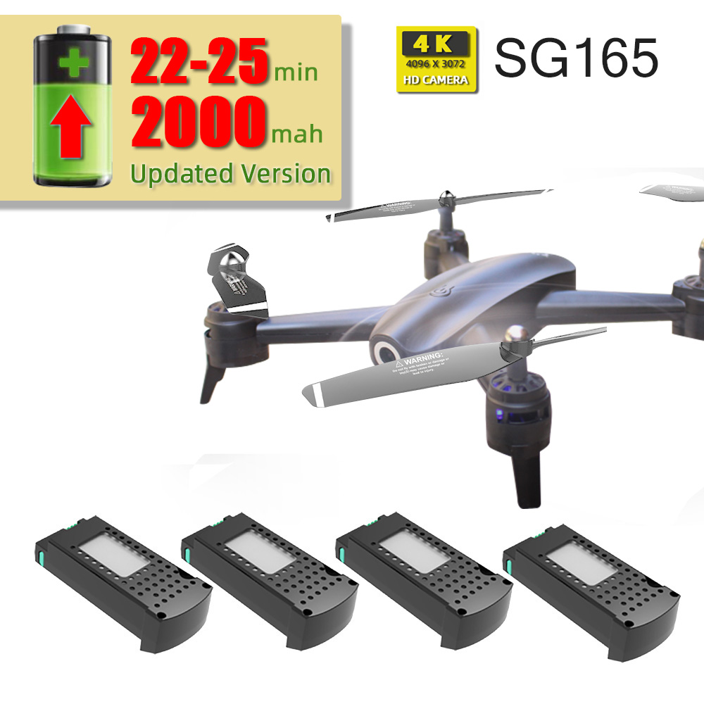 Drones Quadcopter Camera S165 Toys Remote-Control With Hd Rc 4k