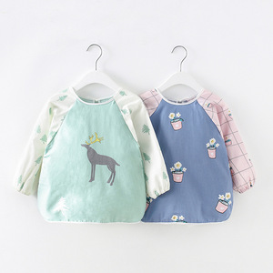 Sudadera con capucha de algodón para bebé, babero infantil, falda impermeable de Otoño/Invierno, sección delgada