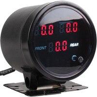 12V Air Pressure Gauge Car Motorcycle Air PSI Meter 60mm 2.5inch Turbo boost gauge controller 5pcs 1/8NPT Electrical Sensors