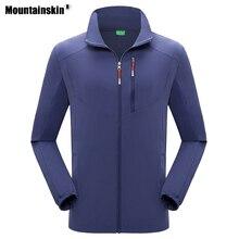 Горные мужские эластичные походные флисовые куртки для спорта на открытом воздухе, дышащие ветровки для кемпинга, походов, альпинизма, пальто VA593