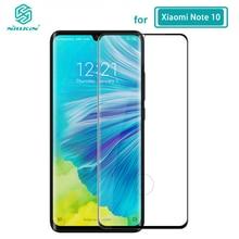 עבור Xiaomi Mi הערה 10 זכוכית NILLKIN DS + מקס 9H בטיחות מלא דבק 3D מזג זכוכית עבור Xiaomi mi הערה 10 פרו/CC9 פרו