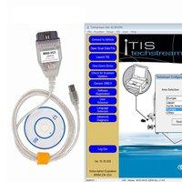 Haute Performance VCI J2534 pour Toyota TIS Techstream câble de voiture OBD2 câble Diangostic pour Windows XP|Testeurs électriques et fils de test| |  -