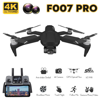 F007 PRO RC Drone with 4K Camera Brushless Drone 5G GPS Drone Optical Flow Positioning