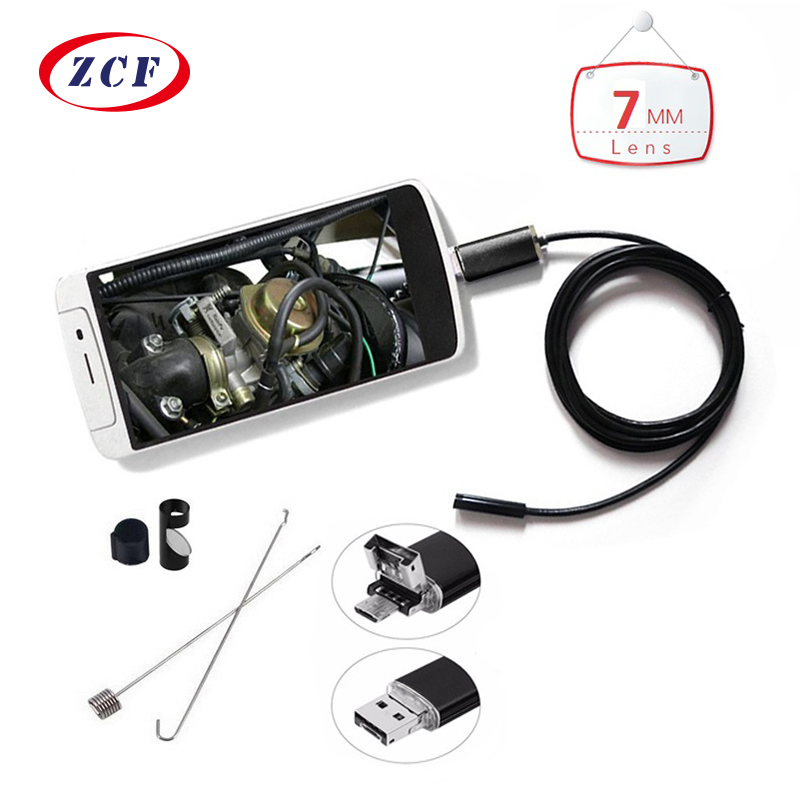 MINI Endoscope Camera 1m/2m/3.5m/5m/10m PC Android 7mm Lens Waterproof Inspection Borescope Micro OTG USB Car Camera Endoscope