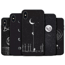 Space Patterned Soft Phone Case For iPhone – FREE Shipping