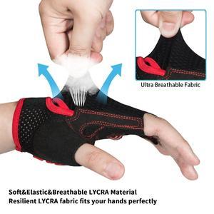 Image 4 - MOREOK bisiklet eldiveni darbeye dayanıklı MTB bisiklet eldiven nefes yol bisikleti sürme döngüsü bisiklet eldivenleri kaymaz bisiklet eldiven erkekler için