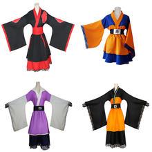 Аниме Наруто Узумаки Косплей костюмы akatsuki lolita кимоно