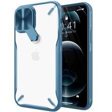 עבור iPhone 12 פרו מקסימום מקרה, NILLKIN מצלמה הגנת כיסוי Stand מקרה עבור iPhone 12 מיני מחשב + TPU חומר טלפון מקרה עבור iPhone12
