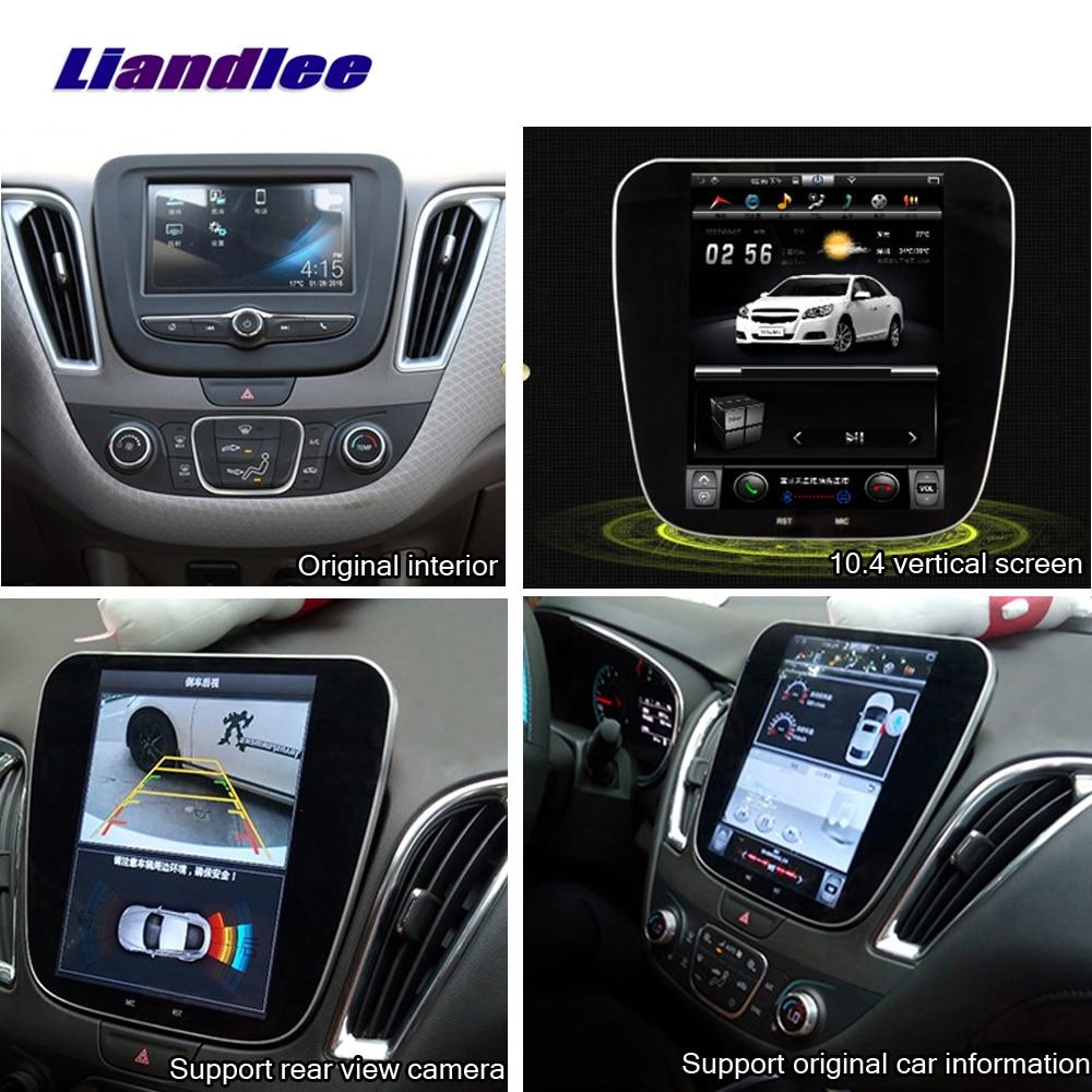 Liandlee pour Chevrolet Equinox 2017 ~ 2019 Android multimédia GPS Original voiture style stéréo Radio Carplay Wifi carte Navi Navigation
